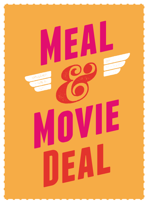 Banner Meal Movie Deal